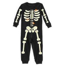 Lil' Creatures Skeleton One-Piece Gymboree