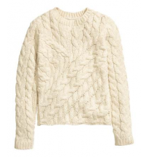 Cable-knit Sweater H&M