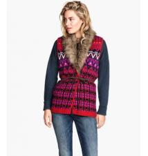 Jacquard-knit Vest H&M