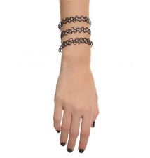 Black Tattoo Bracelet Hot Topic