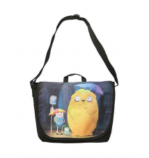 Adventure Time In The Rain Messenger Bag Hot Topic