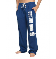 Doctor Who Logo Guys Pajama Pants Hot Topic