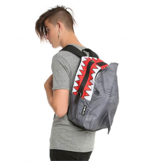 Mojo Shark With Fin Backpack Hot Topic