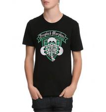 Dropkick Murphys Skull Shamrock T-Shirt Hot Topic