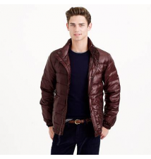 Lightweight down puffer jacket J Crew