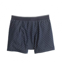 Circle print knit boxer briefs J Crew
