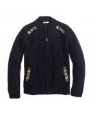 Girls' jeweled sweater-jacket ..