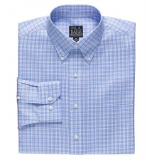 Signature Long-Sleeve Wrinkle-Free Cotton Buttondown Sportshirt JoS. A. Bank