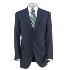 Signature Imperial Blend 2 Button Silk/Wool Sportcoat Extended Sizes JoS. A. Bank