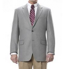 Executive 2 Button Fleece Rich Sportcoat Regal Fit JoS. A. Bank