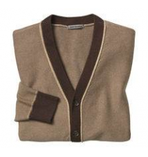 Reverse-Stitch Cardigan Johnston & Murphy