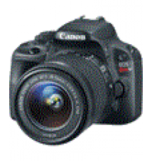 Canon EOS Rebel SL1 DSLR Camera with EF-S 18-55mm f/3.5-5.6 IS STM Lens Fry's Electronics