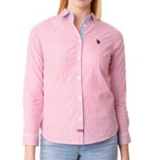 Slim Stripe Poplin Shirt