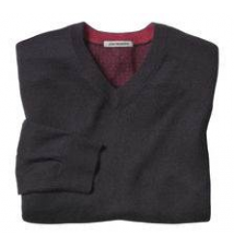 Fine-Gauge V-Neck Sweater Johnston & Murphy