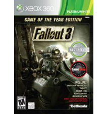 Fallout 3 Game of the Year Edition for Xbox 360 Gamestop