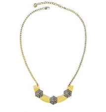 Pave Hexagon Plate Necklace Juicy Couture