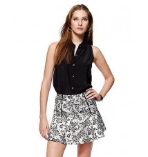 Floral Jacquard Skirt Juicy Couture