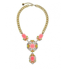 Gemstone Drop Drama Necklace Juicy Couture