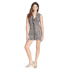 Luxe Leopard Button Front Cover Up Juicy Couture