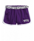 TCU Horned Frogs Mesh Short Ju..