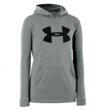 Under Armour Storm Armour Fleece Big Logo Hoodie - Boys' Grade School Kids Foot Locker