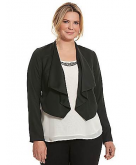 Reversible draped jacket Lane ..