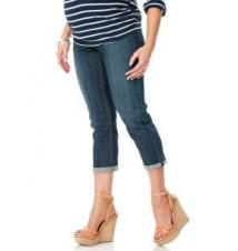 Indigo Blue Secret Fit Belly Super Stretch Boot Cut Maternity Jeans Motherhood Maternity