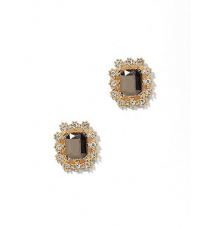 Faux-Stone Frame Post Earring New York & Company