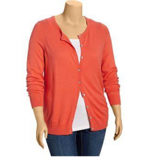 Women's Plus Crew-Neck Cardigans Old Navy