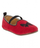 Holiday-Bow Ballet Flats for B..