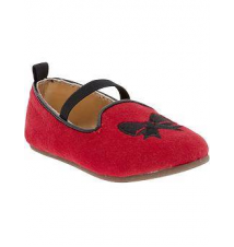 Holiday-Bow Ballet Flats for Baby Old Navy
