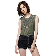 House of Harlow Sunshine Micro Roll Shorts PacSun