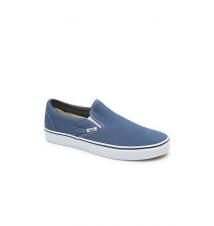 Vans Classic Navy Slip-On Shoes PacSun