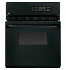 GE 24 in. Electric Single Wall Oven in Black Home Depot