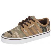 Kids Skate Seeley Stone Khaki Cargo Tan Robert Wayne Footwear