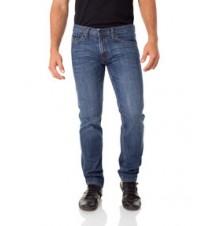 Skinny Fit Rigid Jean, Dark Medium Blue Wash