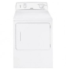 Hotpoint 6.0 cu. ft. Electric Dryer in White Home Depot