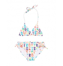 Girls 7‑ 14 Sundown Tiki Tri Set Roxy
