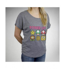 Nintendo Power Up Dolman Junior Fitted Tee Spencer's