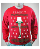 A Christmas Story Fragile Leg ..