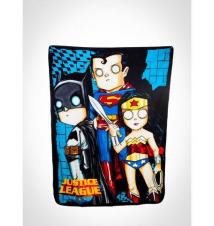 Justice League Super Fleece Blanket Spencer's