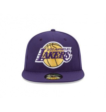 New Era Men's Lakers 59Fifty Cap - Purple Sport Chalet