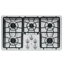 GE 36 in. Deep Recessed Gas Cooktop in Stainless Steel Home Depot