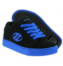 Heelys Boys Straight Up (1-3)) Shoe - Black Royal Sport Chalet