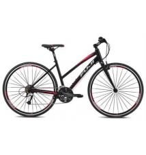 Fuji Women's Absolute 1.7 Performance Hybrid Bike - Black Sport Chalet