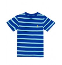 Boys Stripe Crew Neck Tee