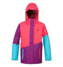 DC Girls' Fuse Jacket - Bright Rose Sport Chalet