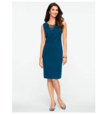 Double-Faced Dress Talbots