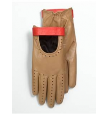 Leather Moto Gloves Talbots