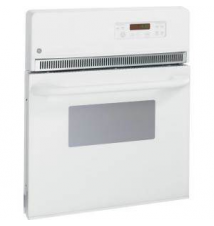 GE 24 in. Electric Single Wall Oven in White Home Depot